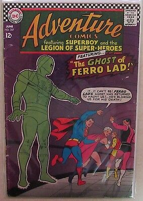 DC Comics - Adventure Comics Issue #357 - Silver Age -1960s - Superboy