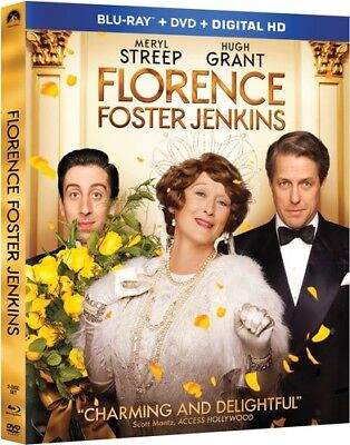 Florence Foster Jenkins [New Blu-ray] With DVD, Widescreen, 2 Pack, Ac-3/Dolby
