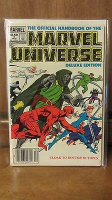 The Official Handbook of the Marvel Universe #3 (Feb 1986, Marvel)