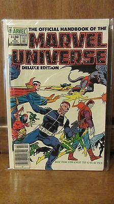 The Official Handbook of the Marvel Universe #4 (Mar 1986, Marvel)