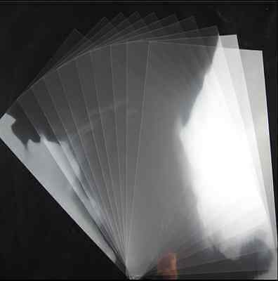 5x A4 Clear Transparency Overhead Projector Film for INKJET Printer/ Cover Photo