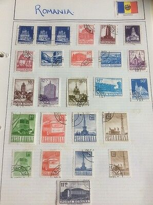 Romania Stamps Please See All Photos