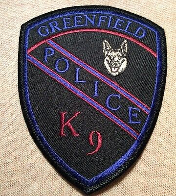 CA Greenfield California K-9 Unit Police Patch