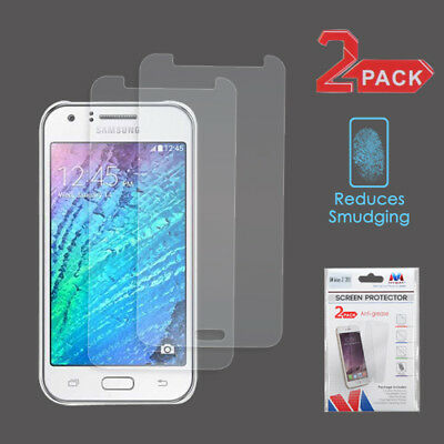 2-Pack LCD Screen Protector Film Cover For Samsung Galaxy J7(2015)