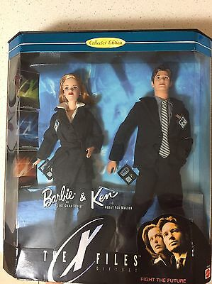 Barbie and Ken The X Files Scully and Mulder 1998