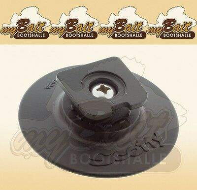 Scotty Cup Holder Button with Adhesive tape No.442