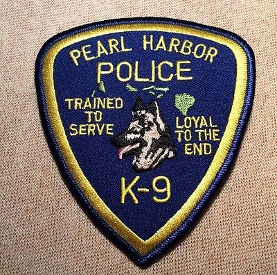 HI Pearl Harbor Hawaii K-9 Unit Police Patch