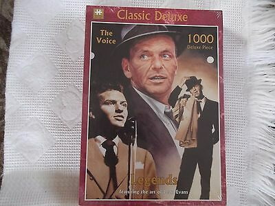 Frank  Sinatra  Jigsaw  The  Voice  Classic  Deluxe  1000 pcs   Still Sealed