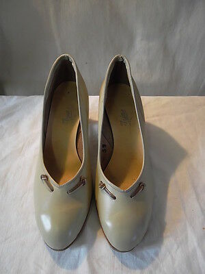 Chaussures vintage femme années 1950/60 taille 39