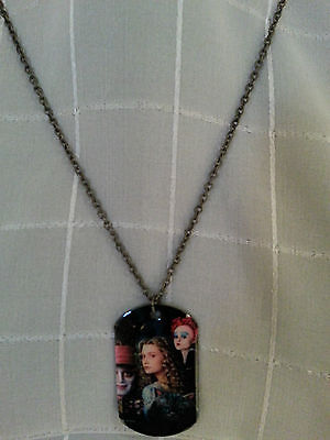 Alice in wonderland Disney necklace free ship anywhere NWT