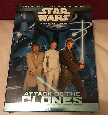 STAR WARS - Attack of The Clones - Two Player Trading Card Game. New