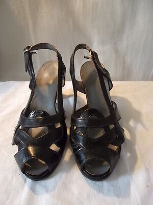 Chaussures vintage femme années 1950/60 taille 4