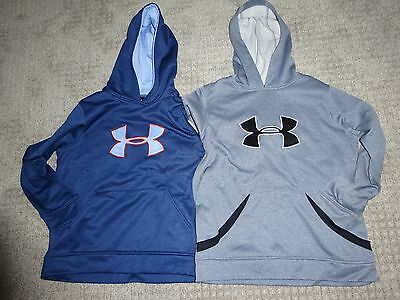 Boys Under Armour  Youth Large Hooded Sweatshirt Pair 2  Hoodies EXCELLENT COND!