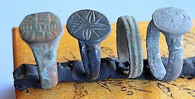 Medievil Viking Period rings with drawimg