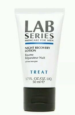 LAB SERIES SKINCARE FOR MEN NIGHT RECOVERY LOTION 50ml FREE POST 100% GENUINE