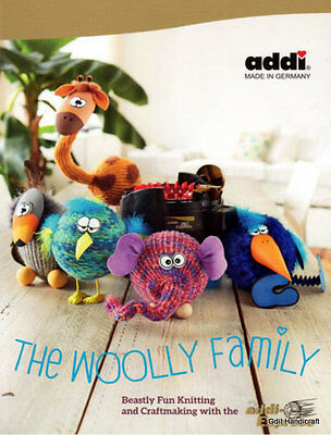 ADDI Express BOOK Craft and Story THE WOOLLY FAMILY ~20 instructions~ 976-0