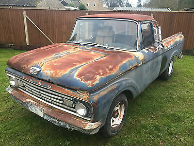 """1963 Ford F100 """"Uni Body"""" Very Low Production Pick Up *292 Cu In V8*"""