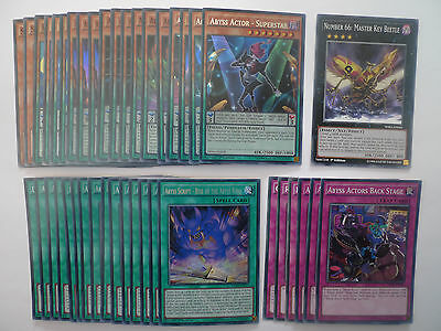 Abyss Actor Deck * Ready To Play * Yu-gi-oh