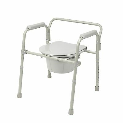 Folding Portable Commode by Drive Medical LTD 11148-1