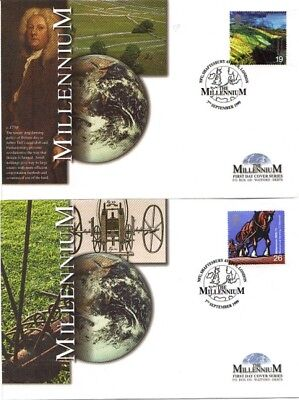 7 September 1999 Farmers Tale On 4 Mercury Limited Edition First Day Covers Shs
