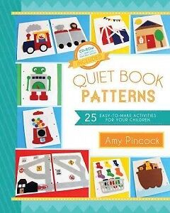 Quiet Book Patterns - NEW - 9781462112456 by Pincock, Amy
