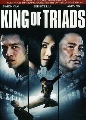 King of Triads [New DVD] Ac-3/Dolby Digital, Dolby, Dubbed, Subtitled, Widescr