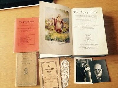 The Holy Bible Oxford, Prayer Book , The Gospel St John ,The IncomparableChrist
