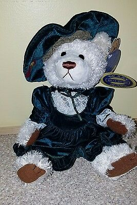 Brass Button Bears Louise The Bear of Serenity with Tag FREE SHIPPING