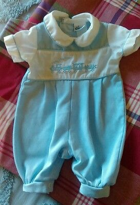 Vintage Alexis premie baby boy outfit