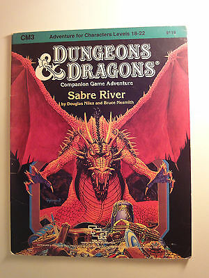 Dungeons and Dragons,Module CM3 Sabre River
