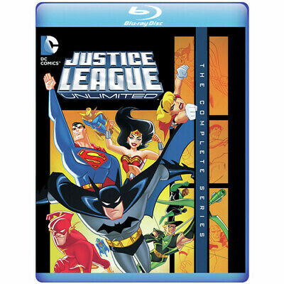 Justice League Unlimited: The Complete Series [New Blu-ray] Manufactured On De