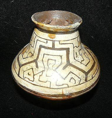 Shipibo Peru Amazon Indian Small Pot #2