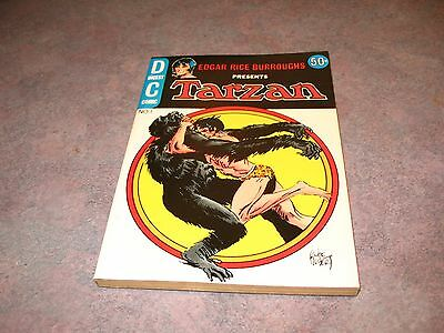 TARZAN DIGEST #1  No1   Joe Kubert DC Comics 1972  Digest Comic  NEW OLD STOCK