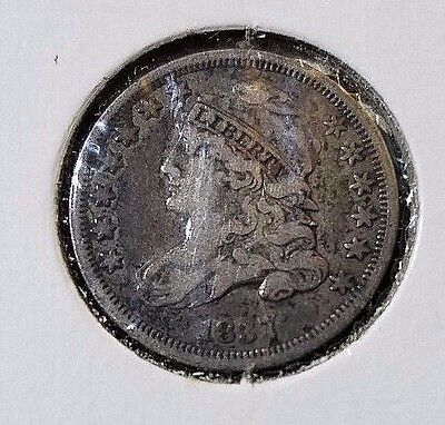 1837 Capped Bust Silver Dime!
