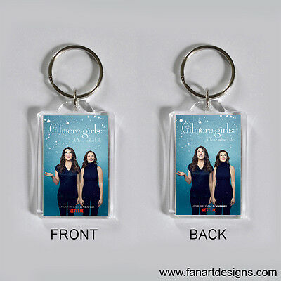 Gilmore Girls: A Year In The Life - Lauren Graham - Alexis Bledel -  Keychain #4