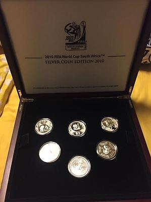 2010 Fifa World Cup South Africa Silver Proof Set