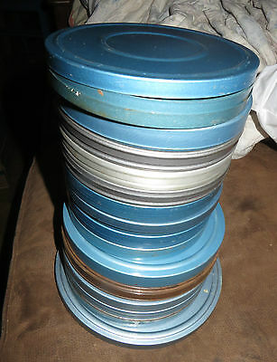 Vintage Both Super 8 and Standard 8mm Home Movie Film Lot Vacations Home Life +