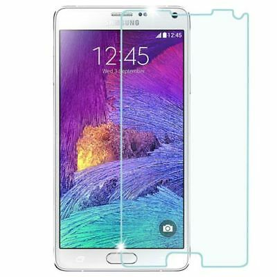 Clear Tempered Glass LCD Screen Protector Film Cover For Samsung Galaxy Note 4