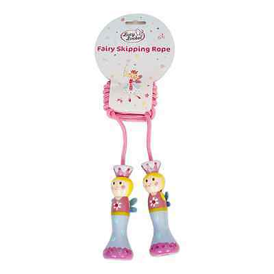 Fairy Tale Wooden Skipping Rope (Pink Glittery Kids Skipping Rope) Lucy Locket