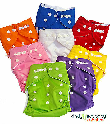 Reusable Modern Baby Cloth Nappies Adjustable Inserts Bulk nappy microfibre x10