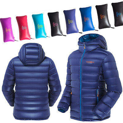Men/Wowen Outdoor Hooded UltraLight Duck Down Jacket HIGHROCK Camping Hiking Ski