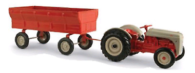 Ford 8N Toy Replica Tractor 1:16 Scale with Flarebox Wagon Part# ERT13906