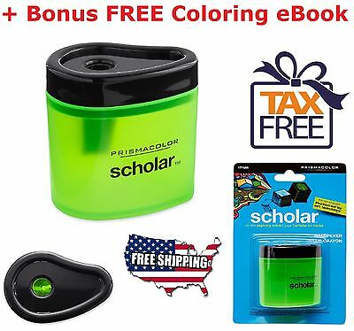 Pencil Sharpener Prismacolor Manual School Office Steel Colored Compact