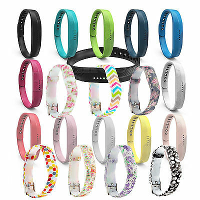 Replacement Pattern Bands for Fitbit Flex 2 Strap Wristband Metal Clasp Tracker