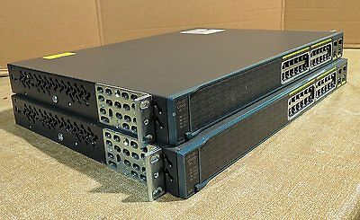 Cisco WS-C2960-24PC-S  with power cord & rack  Real time listing 1 Year warranty
