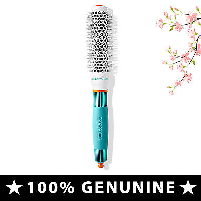 Moroccan Oil Ceramic Round Brush 25 MM - Use Small Waves Hair • New • Genuine