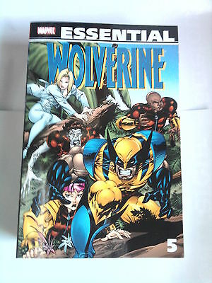 ESSENTIAL WOLVERINE  5 (MARVEL COMICS) with Elektra /  550 pages