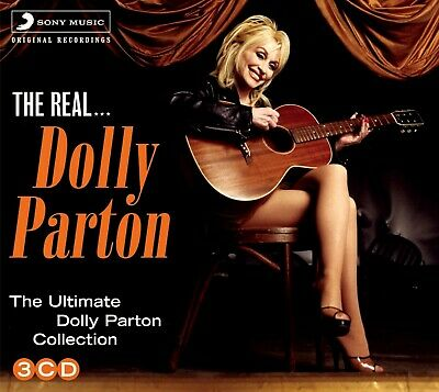 DOLLY PARTON * 55 Greatest Hits * Import 3-CD BOX SET * All Original Songs * NEW