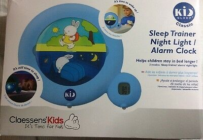 #34 Claessens' Kids Kid Sleep Classic Sleep Trainer / Night Light / Alarm Clock