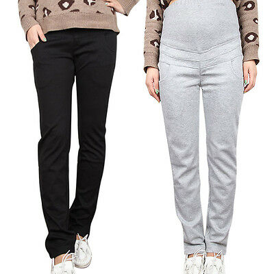 Newly Maternity Trousers Pregnancy Loose Overall Pants Travel Sport Trousers